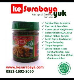 sambal khas surabaya