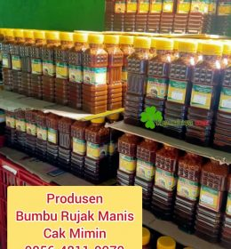 Bumbu Rujak Manis Cak Mimin Oleh-Oleh Sambal Bu Rudy Khas Surabaya
