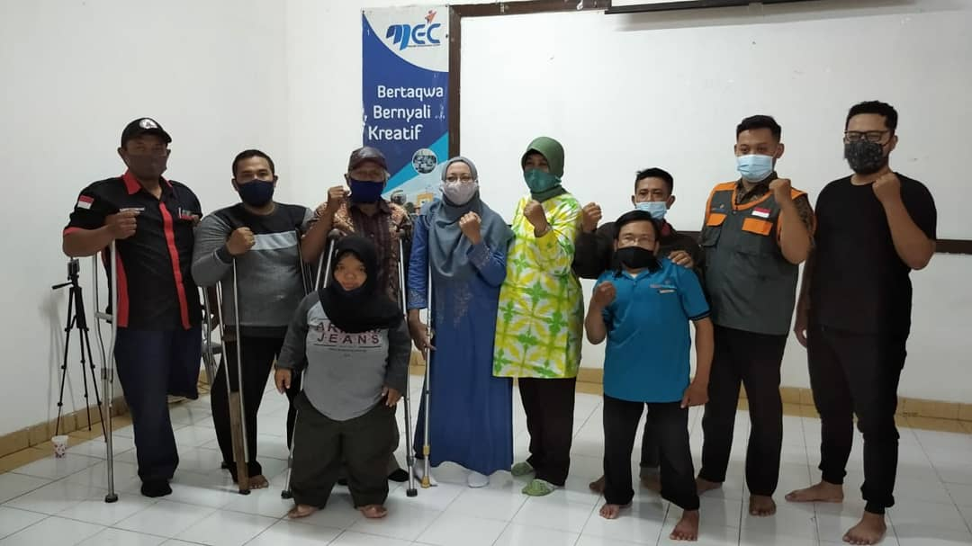 Difabel Surabaya Berdikari Bersama Yatim Mandiri