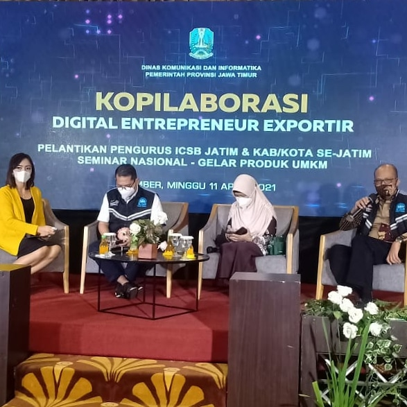 Mencetak Digital Entrepreneur Exportir Demi Mendorong Industri Halal Jawa Timur