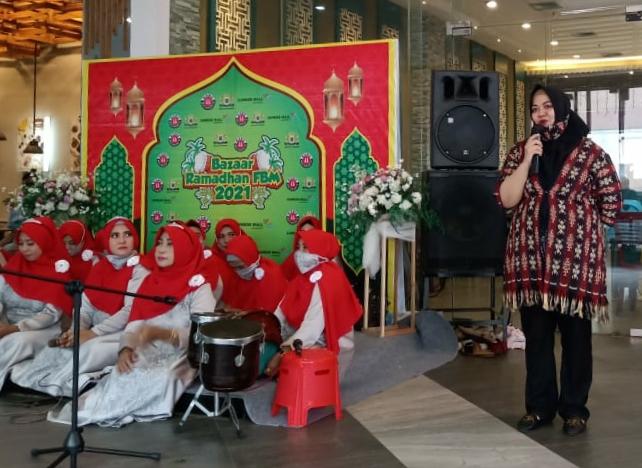 Ayu Yufrizana (Ketua Panitia Bazaar Ramadhan sekaligus Founder Forum Bisnis Mojokerto)