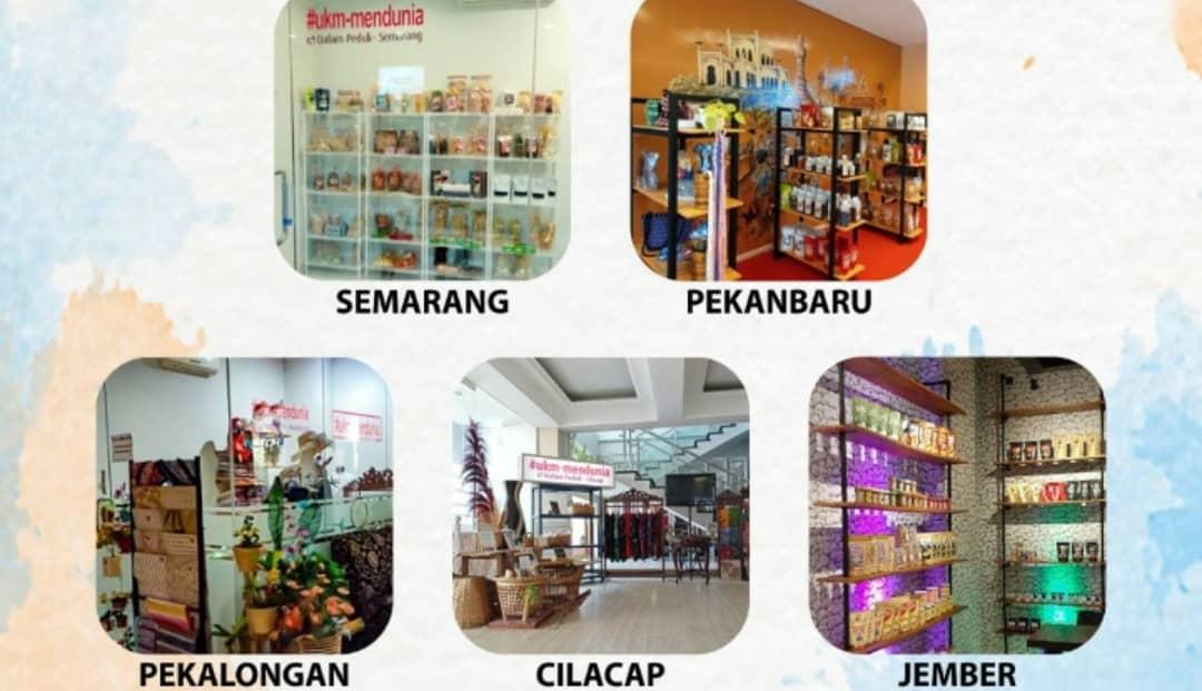 UKM Mendunia Gallery Berkolaborasi dengan Dafam Hotel Management ada di Jember, Semarang, Pekalongan, Cilacap dan Pekanbaru